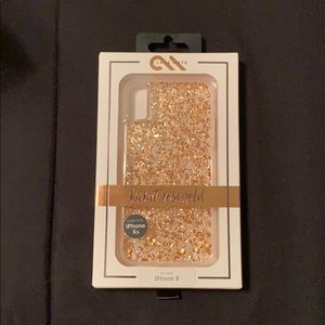 New In Box Case-Mate Rose Gold Karat IPhone X Case
